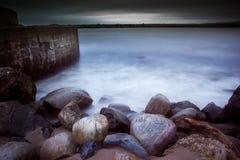 Forntida hamn Fotografering för Bildbyråer