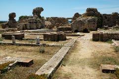 Forntida Heraion på den grekiska ön av Samos Fotografering för Bildbyråer