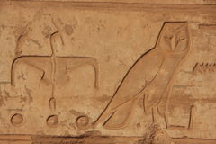 Forntida hieroglyphics Royaltyfria Foton