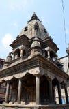 Forntida hinduisk tempel i Patan Fotografering för Bildbyråer