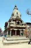 Forntida hinduisk tempel i Patan Royaltyfria Foton