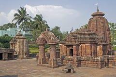forntida hinduiskt tempel Arkivbilder