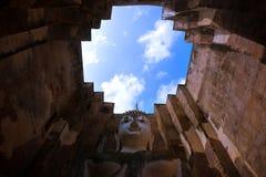 forntida historiska s-sukhothaitempel thailand Royaltyfria Bilder