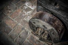 forntida hjul Fotografering för Bildbyråer