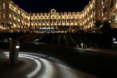 Forntida hotell Dieu som builing, nu ett lyxigt hotell Royaltyfri Bild