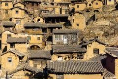Forntida hus för Kina ` s Fotografering för Bildbyråer