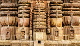 Forntida indisk arkitektur Arkivbild