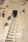 Forntida indisk dwelling arkivbilder