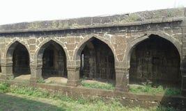 forntida indisk marknad Fotografering för Bildbyråer