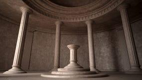 forntida interior Royaltyfri Bild