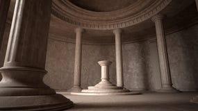 forntida interior Arkivfoto