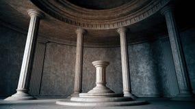 forntida interior Arkivfoton