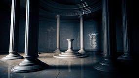 forntida interior Fotografering för Bildbyråer
