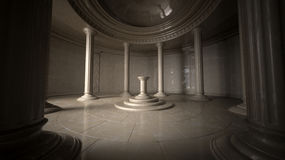 forntida interior Royaltyfri Fotografi