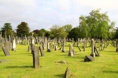 Forntida irländsk kyrkogård arkivbilder