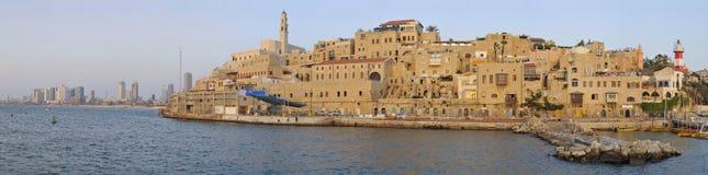 forntida jaffa port royaltyfria bilder