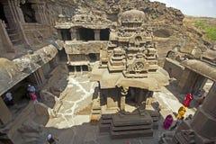 forntida jain tempel Arkivbilder