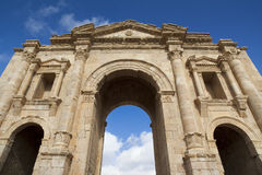 Forntida Jerash i Jordanien Royaltyfria Foton