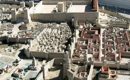 Forntida Jerusalem Arkivbild