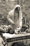 Forntida kök Fotografering för Bildbyråer