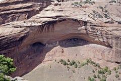 forntida kanjon chelly de dwelling Royaltyfria Bilder