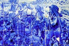forntida keramikdouroportugal dal royaltyfri bild