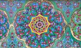 forntida keramiska dekorerar Fotografering för Bildbyråer