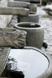 forntida kinesisk by Royaltyfri Foto