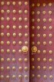 Forntida kinesisk dörr Royaltyfria Bilder