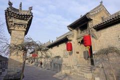 forntida kinesisk dwelling arkivfoto