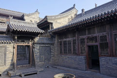 forntida kinesisk dwelling royaltyfri foto
