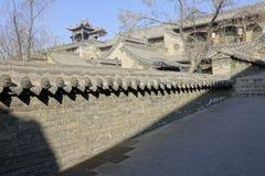 forntida kinesisk dwelling arkivbilder