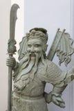 Forntida kinesisk gudstaty Royaltyfri Foto