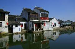 forntida kinesisk litongtown arkivbilder
