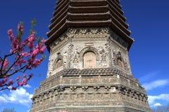 forntida kinesisk pagoda arkivfoton