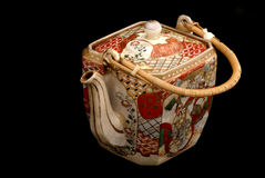 forntida kinesisk teapot Fotografering för Bildbyråer