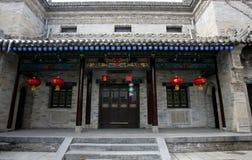 forntida kinesisk town arkivfoton