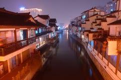 forntida kinesisk town Royaltyfri Fotografi