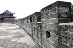 forntida kinesisk vägg Royaltyfri Bild
