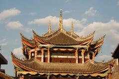forntida kinesiskt porttorn Royaltyfri Fotografi