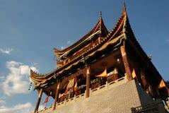 forntida kinesiskt porttorn Royaltyfri Foto