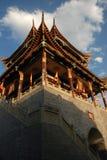 forntida kinesiskt porttorn Fotografering för Bildbyråer