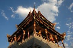 forntida kinesiskt porttorn Royaltyfria Foton