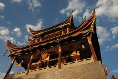forntida kinesiskt porttorn Royaltyfria Bilder