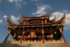 forntida kinesiskt porttorn Arkivbilder