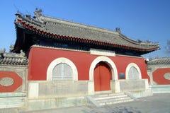 forntida kinesiskt tempel arkivbilder