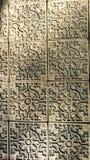Forntida kinestegelplattor Arkivbild