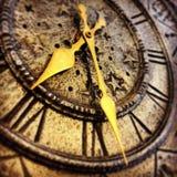 Forntida klocka Arkivbild