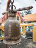 Forntida klocka i tempel Royaltyfria Foton