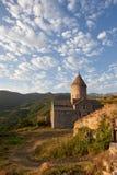 Forntida kloster av Tatev i Armenien Arkivbilder